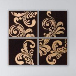 4 Swirl Squares