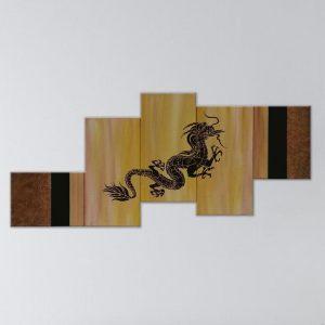 Dragon 5 Panels | Toronto Art |