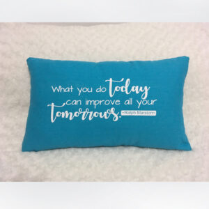 Customizable Quote Pillow [www.artland.ca]