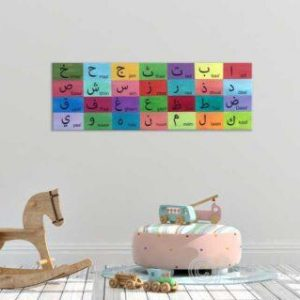 Arabic Alphabets | Hand painted letters